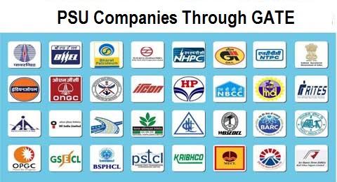 PSU Companies Through GATE