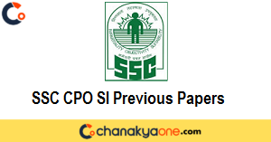 SSC CPO SI Previous Papers