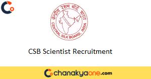 CSB Scientist Recruitment