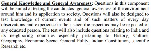 General Knowledge & General Awareness