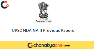 UPSC NDA NA II Previous Papers