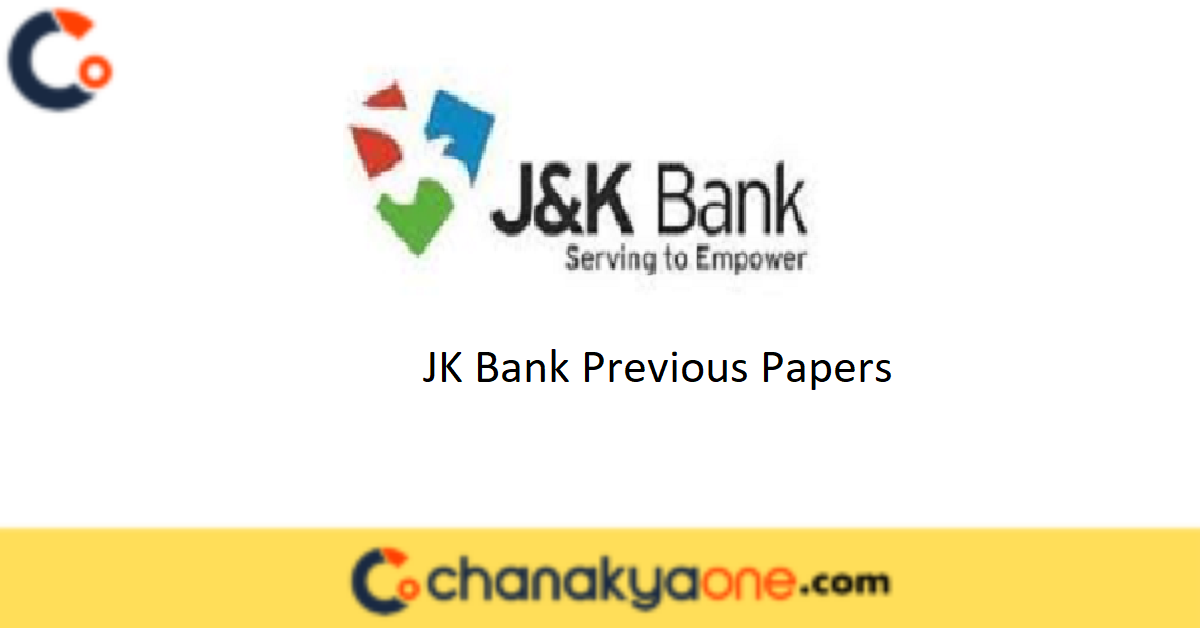 JK Bank Previous Papers