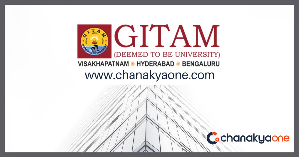 gitam university chanakyaone