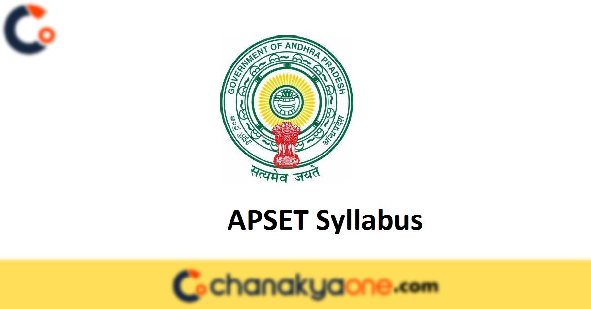 APSET Syllabus