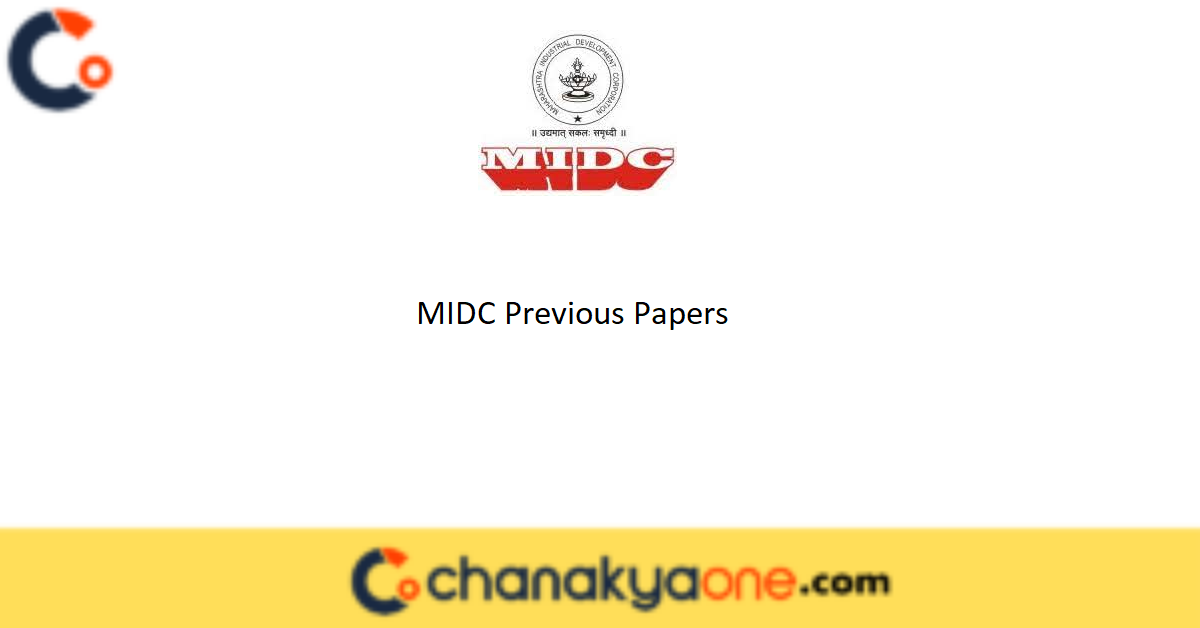 MIDC Previous Papers