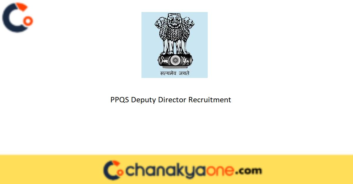 PPQS Deputy Director Recruitment