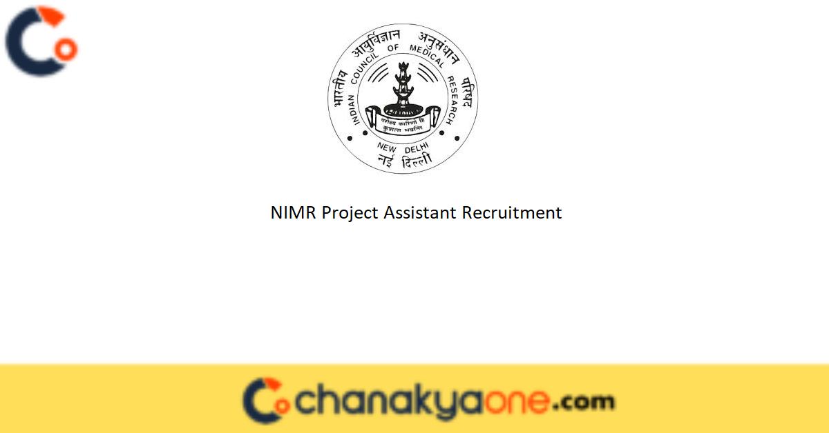 NIMR Project Assistant Recruitment