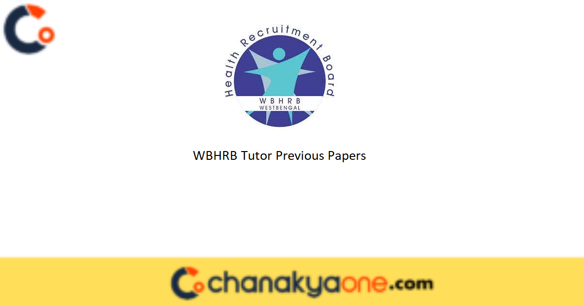 WBHRB Tutor Previous Papers