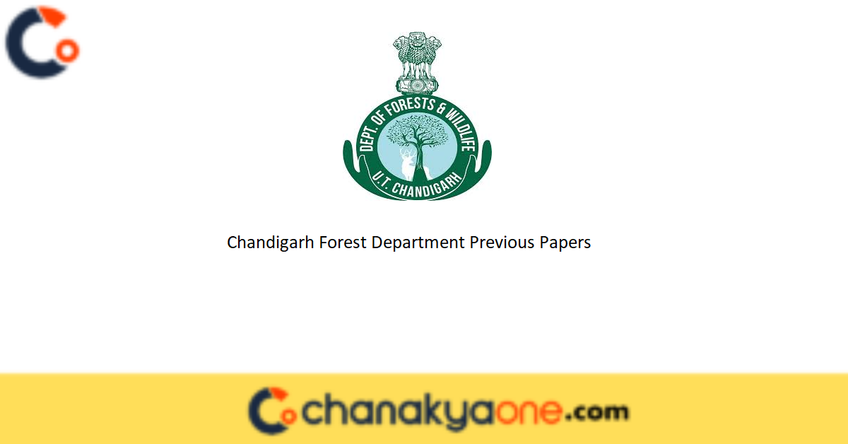 Chandigarh Forest Department Previous Papers